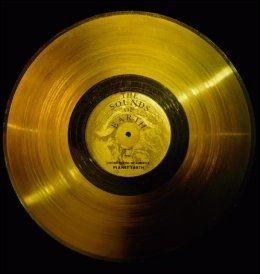 MUSIKK TIL ARBEIDET: «The Sounds of Earth» er tittelen på den første LP-platen som noensinne forlater solsystsmet. Foto: NASA