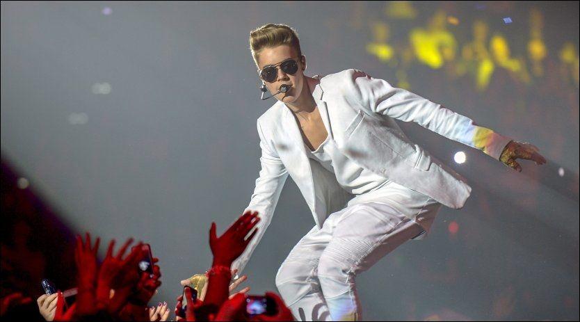 UNGPIKEIDOL: Justin Bieber spiller tre utsolgte konserter på Telenor Arena i april. Foto: AP