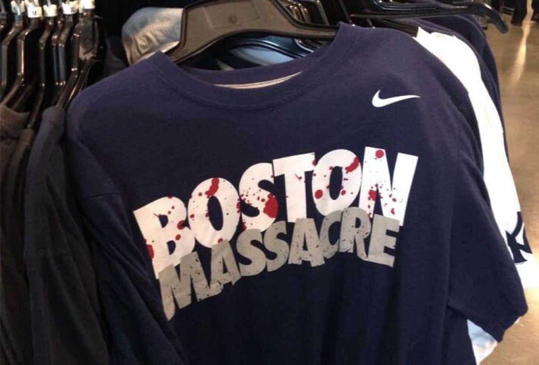 Ville betale 880.000 kroner for «Boston Massacre» trøyen
