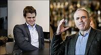 Carlsen fikk VM-råd av Kasparov
