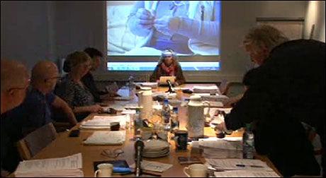 SAKEN BEHANDLES: Pressens faglig utvalg behandlet tirsdag NRKs sak om romkvinnen. Foto: JOURNALISTEN.NO