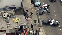 Heftig bil- og menneskejakt i Los Angeles