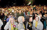 Løke tok seiersdansen foran 10.000 ungarere