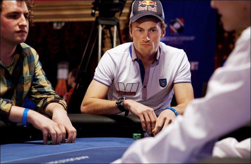 POKER-SUKSESS: Petter Northug gjør det bra som pokerspiller. Her fra Poker-NM i Latvia i 2011. Foto: Jørgen Braastad, VG