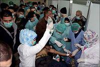 Syriske pasienter forteller om gassforgiftning