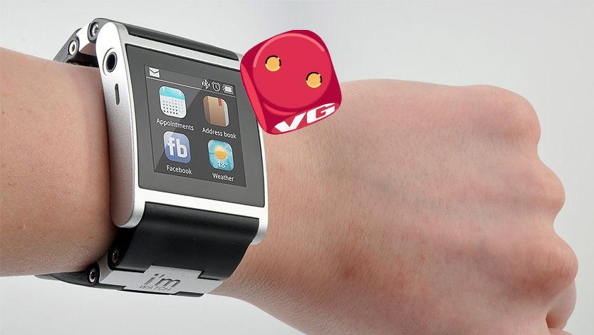 I'm Watch er pen å se på, i hvert fall hvis du liker litt store klokker. (Foto: Sander Dyrop, Amobil.no)