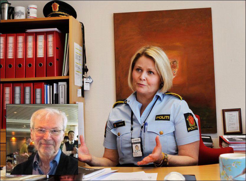 POLITIET BEKLAGER: Fylkesmannen i Oslo tilrådet politiet å etterforske saken. Men politiet har for mye annet å gjøre. - Det er svært beklagelig at vi måtte henlegge denne saken, det skyldes rene kapasitetshensyn. Vi burde ha etterforsket den, og vi har stor forståelse for de pårørendes ståsted, sier fungerende leder Grete Metlid ved seksjon for volds- og seksualforbrytelser ved Oslo politidistrikt. Foto: NILS BJÅLAND