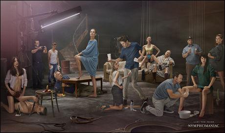 FILMBILDE: Produksjonsselskapet har nylig sluppet dette bildet i forbindelse med «Nymphomaniac». Foto: ZENTROPIA / CASPER SEJERSEN