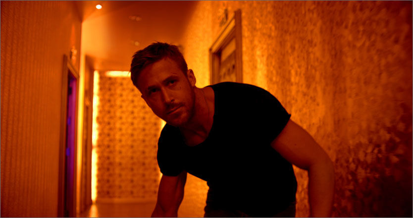 BLANDEDE REAKSJONER: Ryan Gosling spiller Julien i «Only God Forgives», som delte kritikerne i Cannes onsdag. Foto: Scanbox