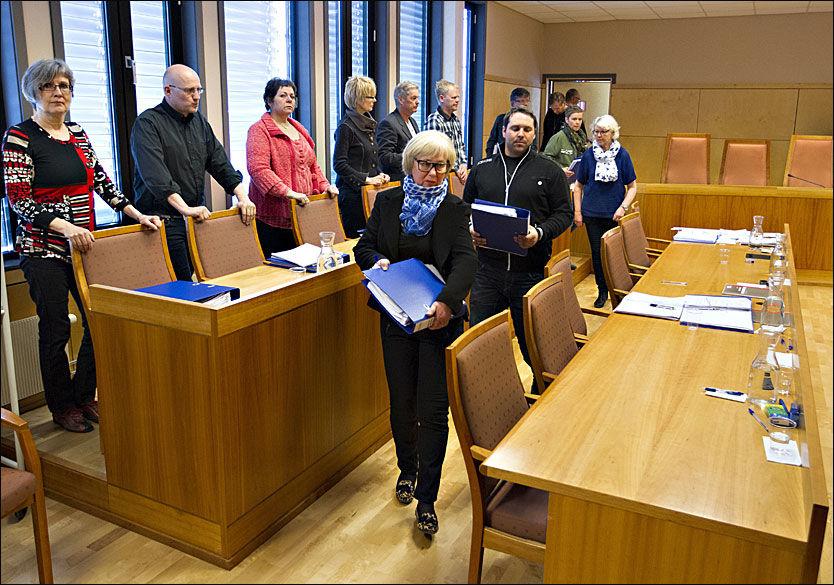 AVGJØR: Juryen har trukket seg tilbake for å avgjøre overgrepstiltalte rune Øygards skjebne. Foto: Roger Neumann / VG