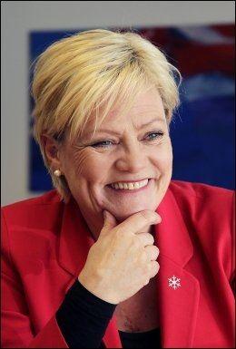 ORGINAL: Kunnskapsminister Kristin Halvorsen beskriver Lahlum som omsorgsfull, sosial og usosial. Foto: TROND SOLBERG