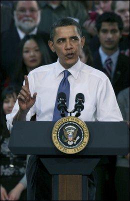 SKUFFELSE: Hans Olav Lahlum beskriver Barack Obama som en skuffelse. Foto: THOMAS NILSSON