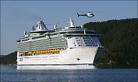Kjempe-cruiseskipene kommer ikke inn til Bergen