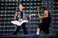 Metallica spiller på Roskilde