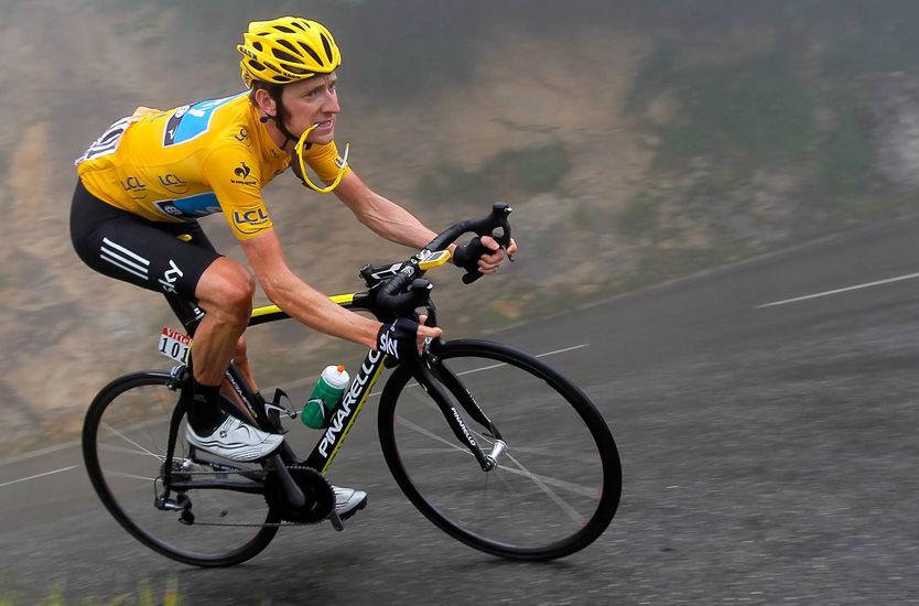 MÅ STÅ OVER TOUREN: Bradley Wiggins (33) må stå over Tour de France grunnet sykdom og skader. Her er han avbildet fra fjorårets Tour de France. Foto: Getty Images