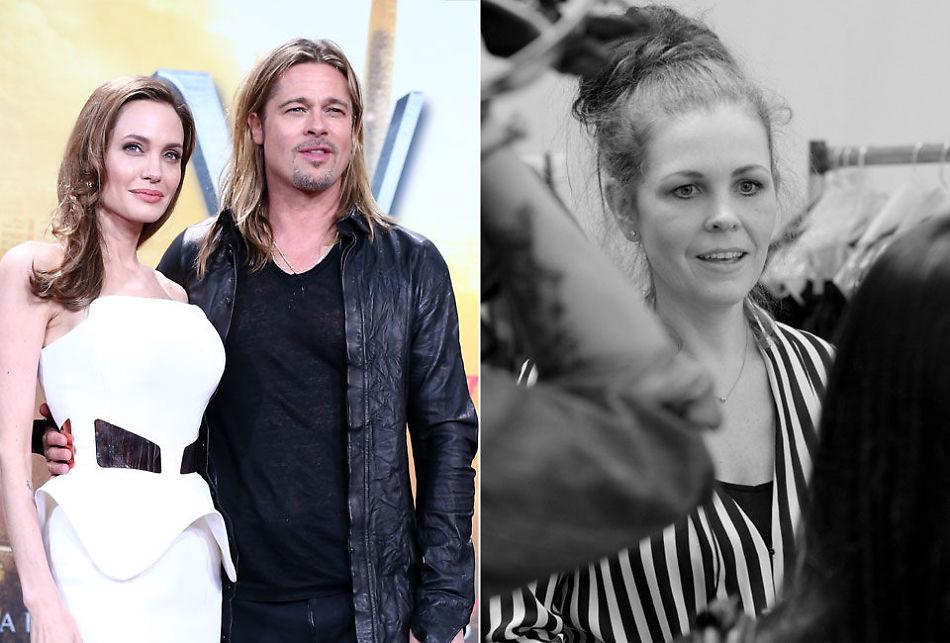b4f475ca NORSK DESIGN I VINDEN: Angelina Jolie og Brad Pitt kler barna sine i klær  designet