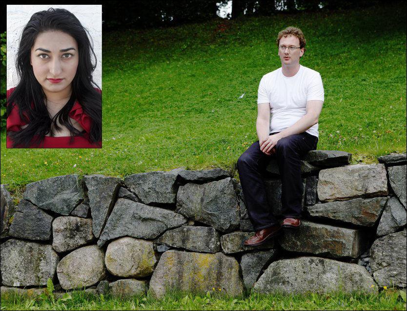DEBATT: Shabana Rehman stiller seg bak Fritt Ords avgjørelse om å støtte boken til Peder Are Nøstvold Jensen, også kjent som bloggeren Fjordman. FOTO: Michael Holtermann/MAGNAR KIRKNES/VG