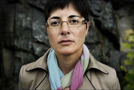 PRISVINNER: Forfatter og samfunnsdebattant Sara Azmeh Rasmussen fikk Fritt Ords Pris i 2009. Hun synes ikke stiftelsens pengestøtte til Fjordman er betenkelig. Foto: MOA KARLBERG/VG