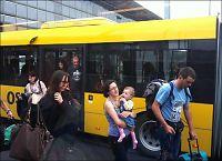 Buss for fly på Gardermoen