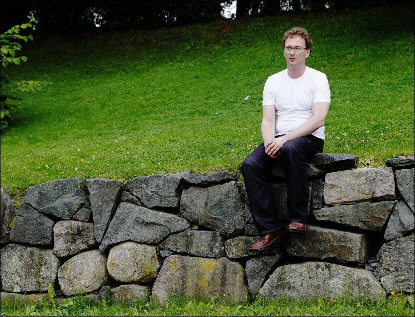 FÅR PENGESTØTTE: Peder Are Nøstvold Jensen, kjent som Fjordman. Foto: Magnar Kirknes