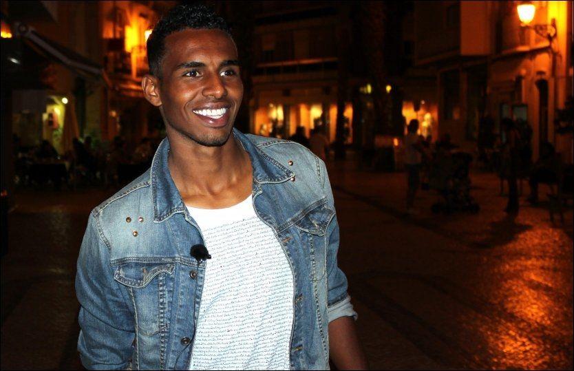 TIL TYSKLAND: Norske Liban Abdi skal prøve fotballykken i Tyskland. Foto: Håvard Rønning, VG