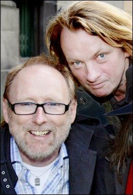LÅTSKRIVERNE: Halvdan Sivertsen og Jan Eggums låter brukes i filmen. Foto: KNUT ERIK KNUDSEN