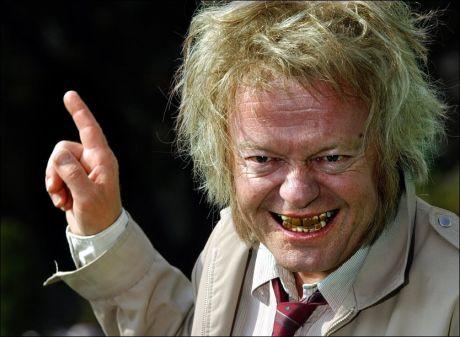 VART DU SKRÆMT, NO: Trond Kirkvaag gjorde stor suksess med karakteren «Skræmmer'n». FOTO: BJØRN THUNÆS/VG