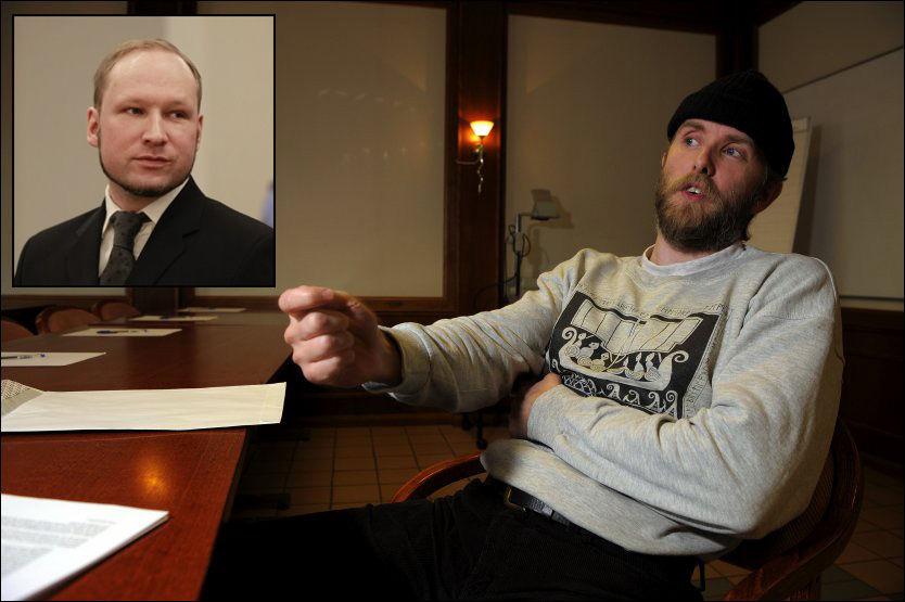 STOR TABBE: Vikenes skriver i et blogginnlegg at han likte det han leste i Breiviks manifest, men at massedrapsmannen gjorde en stor tabbe ved å ikke se at jødene har skylden for den muslimske invasjonen av Europa. Foto: Frode Hansen/Terje Martinsen.