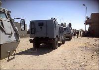 Spent for norske styrker i Sinai