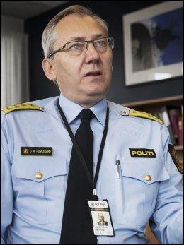POLITIDIREKTØR: Odd Reidar Humlegård. Foto: Frode Hansen