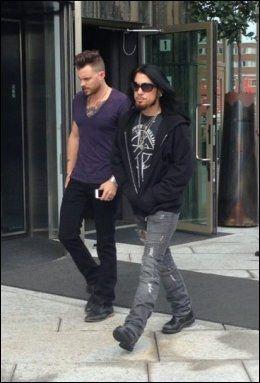 "I OSLO: Dave Navarro fotografert idet han forlater hotellet ""The Thief"". Foto: Sophia Storhaug/VG"