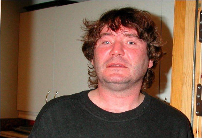 I SØKELYSET: Politiet tror Terje Larsen, kjent som «Vandreren», har begått et nytt hytteinnbrudd. Her er han fotografert i arresten i Lillehammer etter at han ble pågrepet i Skjåk i 2005. Foto: TERJE LISØDEGÅRD