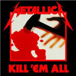 DEBUTALBUM: 25. juli 1983 ga Metallica ut sitt første album, «Kill 'Em All». Den skulle egentlig hete «Metal Up Your Ass», men det ble for drøyt for plateselskapet. Foto: