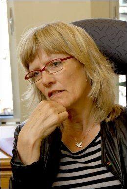 - FELLES INTERESSER: Karin Andersen (SV) sier både ansatte og brukere i NAV er tjent med god sikkerhet. (Foto: ROGER NEUMANN)