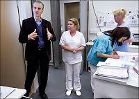 Mer papirarbeid for legene med de rødgrønne