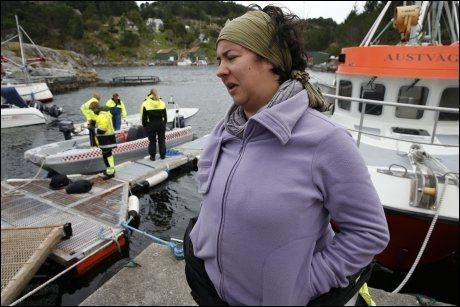 REDNINGSKVINNE: Hvalekspert Maria Acosta er kvinnen bak bråkideen som fikk hvalen ut av vågen. Foto: HALLGEIR VÅGENES