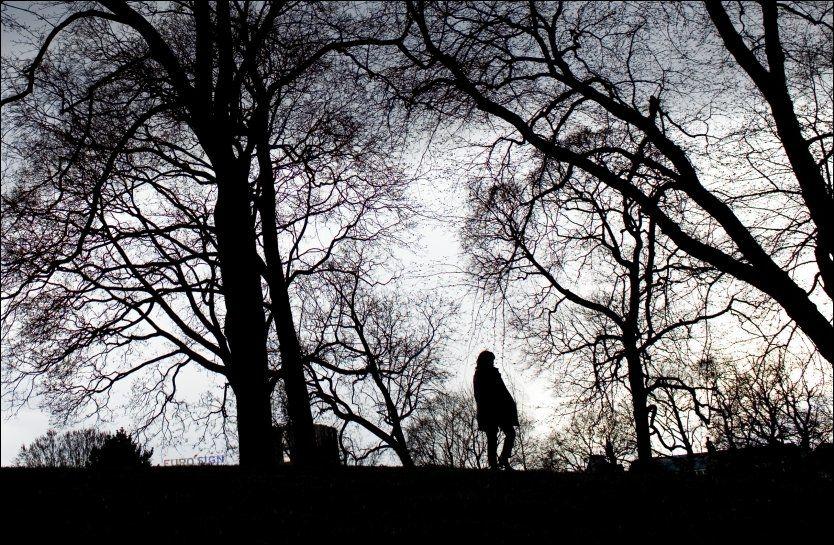 TUNGT: Mellom seks og tolv prosent nordmenn har depresjon til enhver tid. En av fem unge oppsøker psykolog eller psykiater viser tall fra SSB. Foto: Sara Johannessen/NTB Scanoix