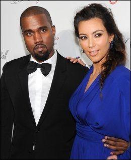 SUPERPAR: Rapperen Kanye West og realitystjernen Kim Kardashian fikk datteren North West i juni. Foto: AP