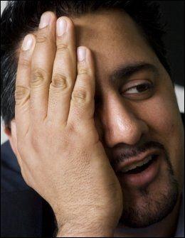 OPPGITT: Abid Q. Raja (V) vil ikke gi Krekar mer oppmerksomhet.