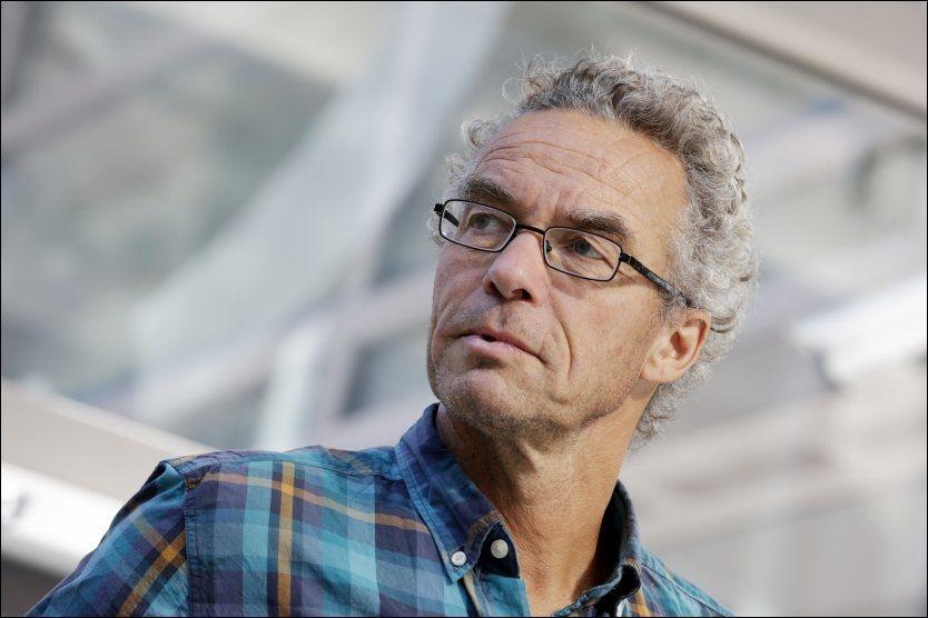 KRASS: Rasmus Hansson kaller Arbeiderpartiet og Høyre for dobbeltmoralske. Selv er han førstekandidat for Miljøpartiet De Grønne i Oslo. Foto: Håkon Mosvold Larsen / NTB scanpix