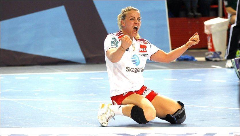 NY VÅR: Etter to gode sesonger i Larvik kommer Isabel Blanco tilbake for fullt på landslaget i neste uke. Det kan bli både EM-kvalikkamper og VM-sluttspill på strekspilleren de neste månedene. Foto: ALF ØYSTEIN STØTVIG