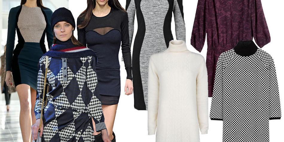 42aaa419 Deilig strikk eller morsomt mønster - her er ti trendy hverdagskjoler -  MinMote.no - Norges største moteside