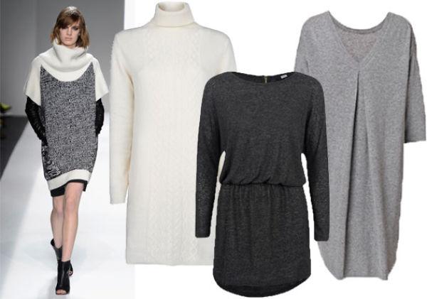 aa9fda5f ENKELT SOM HOS PRABAL GURUNG: Hvit kjole fra Mango, 299 kr. Mørk grå