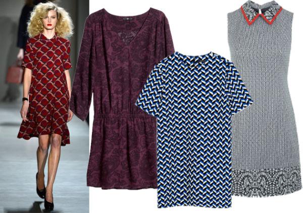 6c72efc9 FARGERIKT SOM HOS MARC BY MARC JACOBS: Burgunderrød kjole fra H&M, 299 kr.