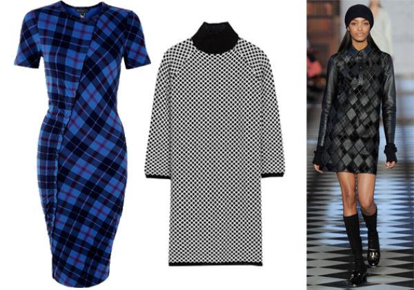 d5ad9dec KLASSISK MØNSTER SOM HOS TOMMY HILFIGER: Blå kjole fra Marc by Marc Jacobs  hos Shopbop