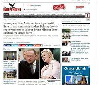 Frp møtte internasjonal presse: - Naturlig at det kobles til Breivik