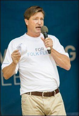 OMSTRIDT: Frp-politiker Christian Tybring-Gjedde.