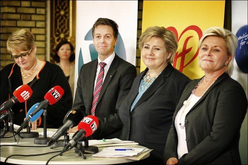 VENSTRE IKKE MED: Selv uten Venstres underskrift, er det flertall i Stortinget for en av KrFs viktige symbolsaker. Foto: MATTIS SANDBLAD
