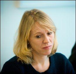 GLAD FEDREKVOTEN BESTOD: Arbeidsminister Anniken Huitfeldt (Ap) er i det minste glad for at de blåblå ikke fjernet hele fedrekvoten. FOTO: JAN PETTER LYNAU/VG.