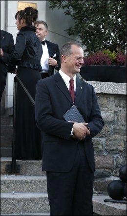 SAMFERDSELSMINISTER: Ketil Solvik Olsen (Frp) blir minister, melder NRK. Foto: TROND SOLBERG